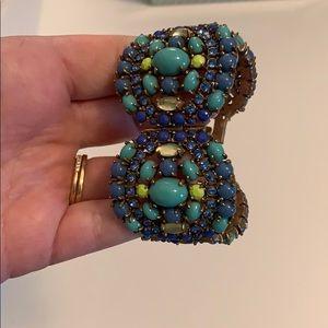 Stella and dot blue gem bracelet
